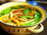 南瓜金针菇汤