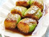 豆腐香菇酿青椒